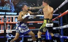 Né đòn hay, võ sĩ còn tung được đòn knock-out 'đáng sợ' để giành đai WBC