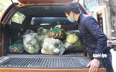 Hà Nội vận động cán bộ, bếp ăn trường học đặt mua nông thủy sản Hải Dương, Quảng Ninh