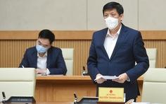 Bộ trưởng Bộ Y tế cùng 4 thứ trưởng kiểm tra phòng chống dịch COVID-19 khu vực Tây Nam Bộ