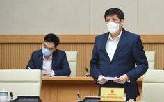 Bộ trưởng Nguyễn Thanh Long: 'Năm 2021 đảm bảo không thiếu vắc xin'