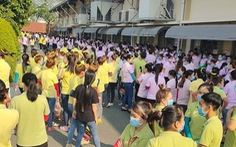 8.200 công nhân Công ty Simone ngừng việc đòi tăng lương