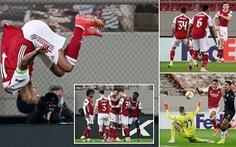 Arsenal 'nghẹt thở' giành vé đi tiếp