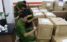20 thỏi kim loại màu vàng tạm giữ tại Công ty Alibaba không phải là vàng