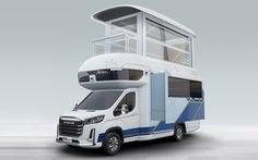 Chiếc xe có thể mở rộng thành căn biệt thự hai tầng hiện đại
