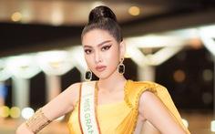 Á hậu Ngọc Thảo dự thi Miss Grand International 2020 tại Thái Lan