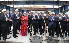 Thái Bình hợp long cầu Trà Lý II và khởi công đường TP Thái Bình - Cầu Nghìn