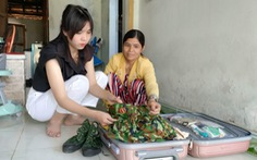 Ba cô gái trẻ Quảng Nam tình nguyện nhập ngũ dù đã có công việc ổn định