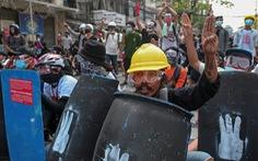 Người Myanmar tiếp tục xuống đường biểu tình