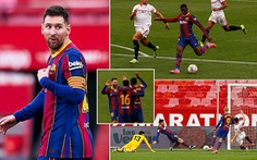 Messi kiến tạo và ghi bàn giúp Barca vượt mặt Real Madrid