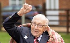 'Đại úy trăm tuổi' quyên góp 30 triệu bảng chống COVID-19 qua đời, dân Anh rơi lệ