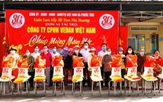 Vedan Việt Nam trao tặng 1.000 phần quà Tết cho người dân tỉnh Đồng Nai