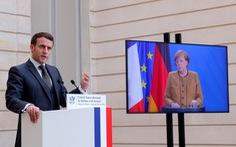 Tổng thống Macron: 'Không xem Trung Quốc ngang hàng Mỹ được'