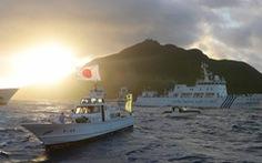 Tàu Trung Quốc vào vùng biển gần Senkaku/Điếu Ngư lần đầu sau luật hải cảnh