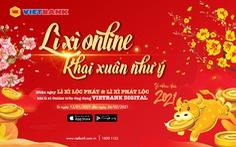 'Lì xì online khai xuân như ý' cùng Mobile Vietbank Digital