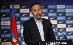 Cựu chủ tịch Barca Bartomeu bị bắt