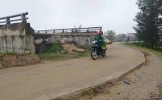 Hà Tĩnh: Cầu, đường hàng chục tỉ đồng 'đứng hình' nhiều năm