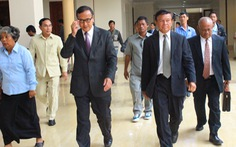 Ông Sam Rainsy, cựu lãnh đạo Đảng Cứu quốc Campuchia, bị kết án 25 năm tù