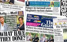 Bị Meghan tố phân biệt chủng tộc, Hoàng gia Anh nói đang 'xem xét nghiêm túc'