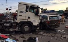 Tai nạn liên hoàn, 2 phụ nữ bị thương nặng, quốc lộ 51 ùn ứ kéo dài