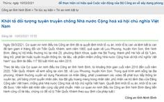 Bắt ông Trần Quốc Khánh vì livestream tuyên truyền chống phá Nhà nước