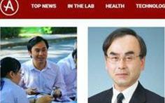 Bị tố 'gian lận trong nghiên cứu': GS Phan Thanh Sơn Nam xin lỗi