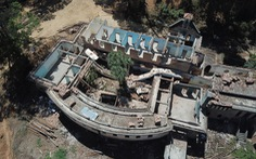 Phong tỏa, ngừng thi công tu viện cổ dòng Franciscaines Đà Lạt sau vụ 2 người chết