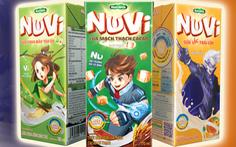 NutiMilk tăng tốc với NuVi - nhãn hiệu dành riêng trẻ em