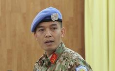 Sĩ quan thứ 2 của Việt Nam làm việc tại trụ sở Liên Hiệp Quốc