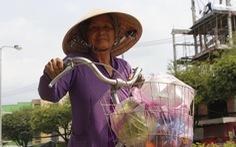 'Tui bán bánh ướt lời được 5 chục, tui dành ra 2 chục mua rau củ của Hải Dương'