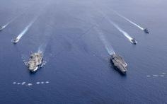 Báo Trung Quốc: Mỹ hoạt động quân sự ở Biển Đông 'nhiều chưa từng thấy'