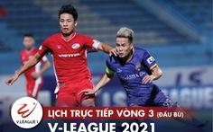 Lịch trực tiếp V-League 14-3: HAGL - Bình Định, Lee Nguyễn đối đầu Quảng Ninh