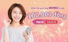 Khách hàng được tặng tiền khi trả phí bảo hiểm Dai-ichi Life Việt Nam qua MoMo
