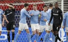 Man City dễ dàng ghi tên vào tứ kết Champions League