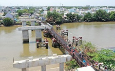 Cầu Long Kiểng, TP.HCM: Chờ 20 năm và tiếp tục... chờ