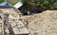 Vây ráp bãi vàng trái phép giáp ranh giữa hai huyện ở Gia Lai