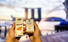 Sữa tươi chứa tổ yến của Vinamilk xuất ngoại sang đảo quốc sư tử