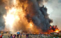 Cháy rất lớn ở trại tị nạn, 15 người chết, 400 người mất tích, 550 người bị thương