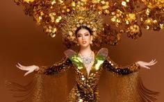 Cận cảnh trang phục nặng gần 30kg của Ngọc Thảo tại Miss Grand International 2020