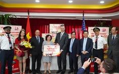 Khẩu trang Việt Nam gửi tặng đã được trao tận tay người dân Mỹ và châu Âu thế nào?