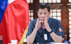 Ông Duterte 'nài nỉ' Trung Quốc: 'Hãy để cho ngư dân tôi đánh bắt cá kiếm cơm'