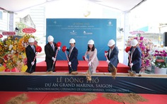 Động thổ dự án căn hộ mang thương hiệu Marriott International
