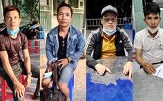 Bắt liên tiếp người từ Nghệ An, Quảng Bình, Kiên Giang về Long An vượt biên