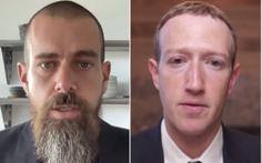 CEO Facebook, Google và Twitter điều trần dài 5 tiếng trước Hạ viện Mỹ