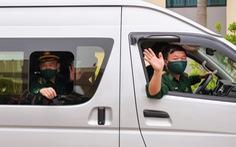 70 chiến sĩ Biên phòng Hải Phòng lên đường 'chi viện' biên giới Tây Nam chống COVID-19