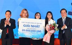 'Hiểu đúng về tiền': 3 sinh viên khối kinh tế giành giải quán quân