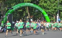 5.000 người tham gia cuộc chạy bộ ngay trung tâm TP.HCM