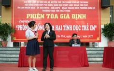 TP.HCM mở phiên tòa giả định, phòng chống xâm hại tình dục trẻ em
