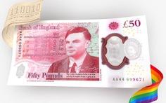 BoE sắp phát hành đồng tiền 50 bảng Anh mới in hình nhà toán học Alan Turing