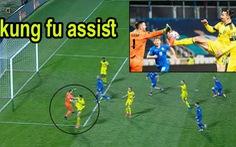 Ibrahimovic kiến tạo siêu đẳng kiểu 'kung-fu' giúp Thụy Điển dẫn đầu bảng B