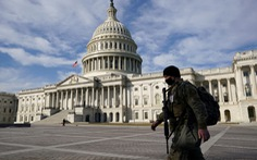 Cảnh sát Mỹ tăng cường an ninh trước âm mưu đột nhập tòa nhà Quốc hội